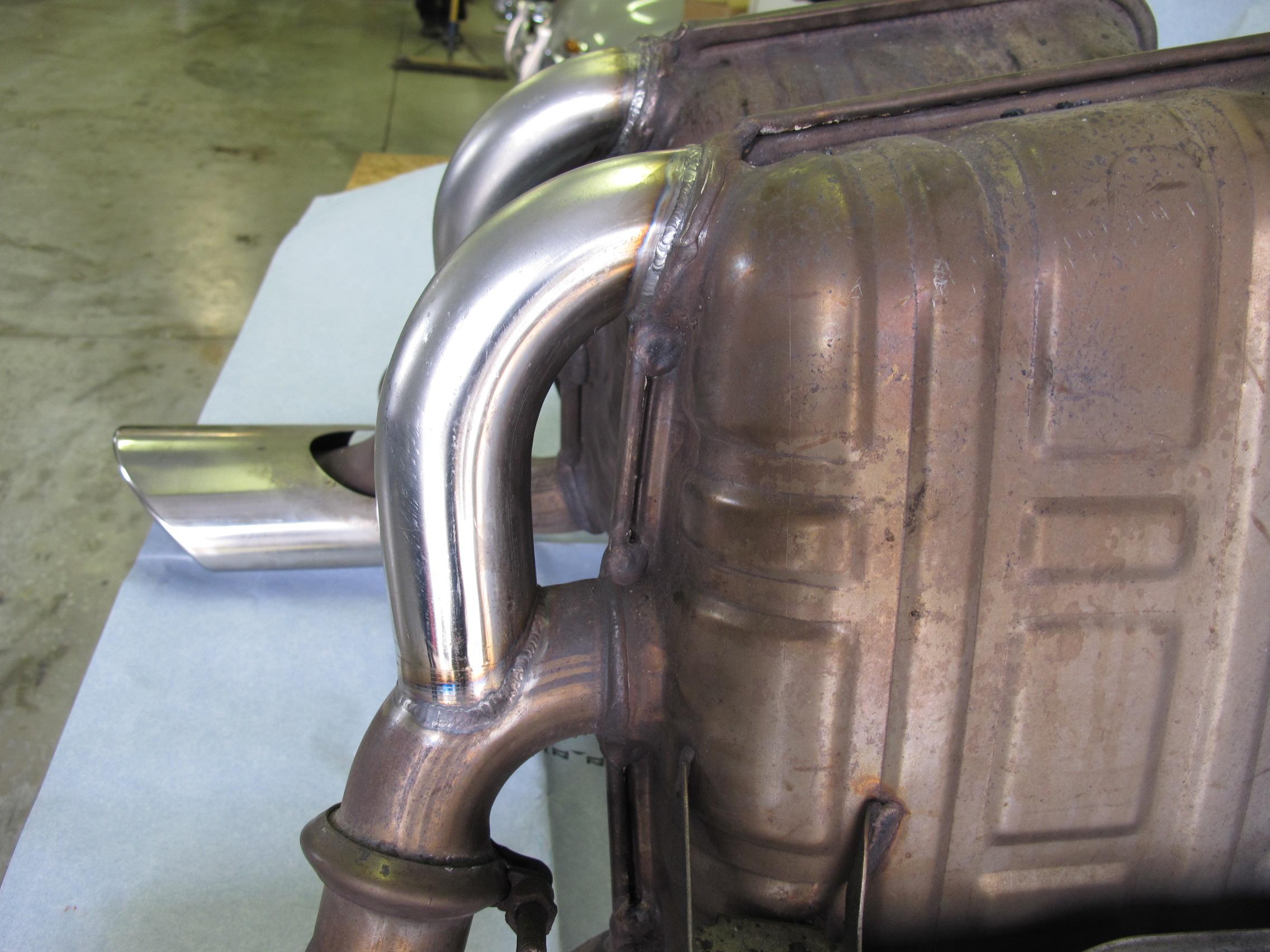 Exhaust Monteith Restoration Performance